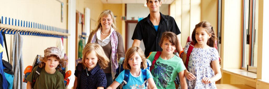 Ganztagsbetreuung für Grundschulkinder